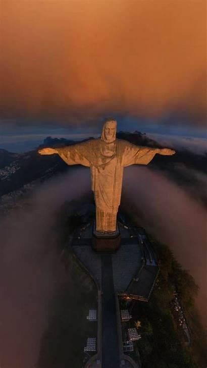 Christ Redeemer Jesus Wallpapers Iphone Words Brazil