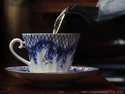 Tea Agua Coffee Sage Te Beber Caliente