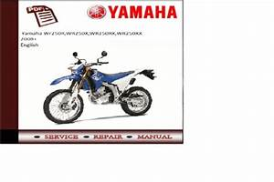Yamaha Wr250rx  Xx Wr250r  X 2008 Service Manual