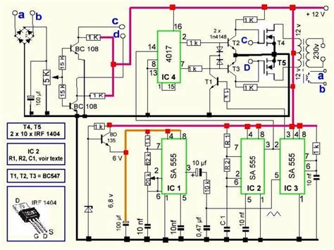 Watts Pwm Controlled Pure Sine Wave Inverter Circuit