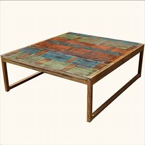 rustic primitive wooden wrought iron cocktail oversized With rustic oversized coffee table