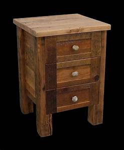 Barn Wood Night Stand Home Furniture Pinterest Wood