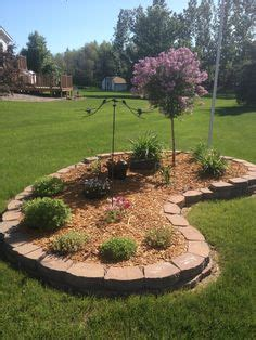 small flower bed trees small flower bed around tree cluster backyard pinterest