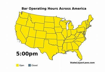 Map State Closing Opening States Times Every