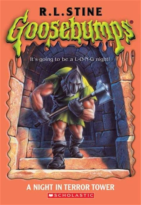 night  terror tower goosebumps   rl stine