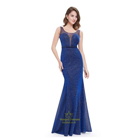 Floor Length Sequin Embellished Mermaid Prom Dress With