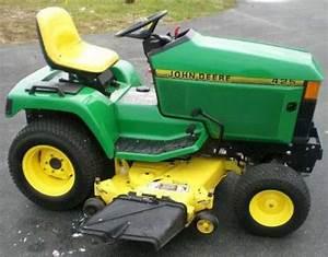 John Deere 425 445 455 Lawn Garden Service Repair Manual