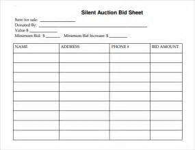 Silent Auction Bid Sheet Template Printable Search Results For Silent Auction Sign Up Sheets Calendar 2015