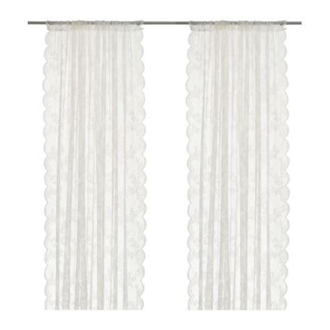 gardine schlafzimmer alvine spets lace curtains 1 pair ikea