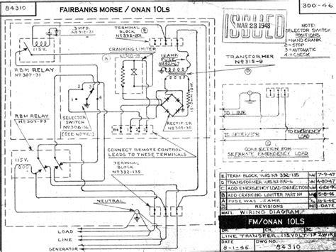 Onan Generator Wiring Diagram Cckr