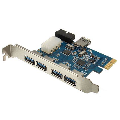 Buy the best and latest usb3 pci card on banggood.com offer the quality usb3 pci card on sale with worldwide free shipping. PCI E Express Adapter A 5 USB 3.0 ports HUB New Internal Expansion Card-in USB Hubs from ...