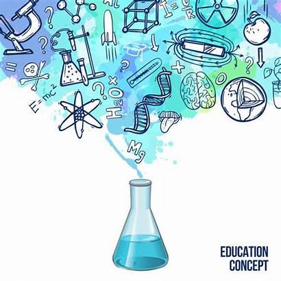 Science Vectors Freepik Vector Education Sketch Concept