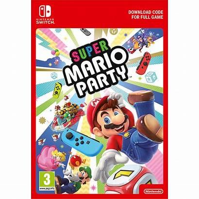 Mario Party Super Switch Nintendo Games Digital