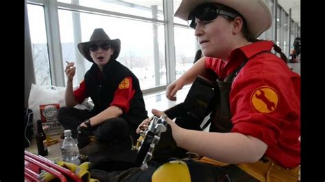 Tf2 Cosplay Group At The Lbm Youtube