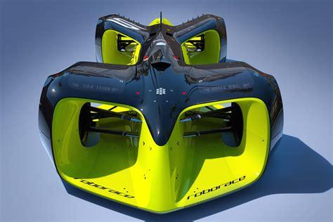 This Is Roborace's Insane Autonomous Race Car