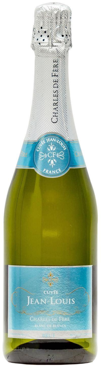 jean louis sparkling wine cuv 233 e jean louis blanc de blancs brut le connoisseur