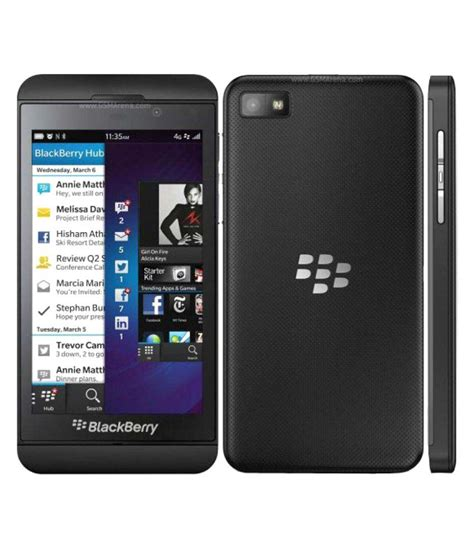 blackberry z10 16 gb black available at snapdeal for rs 7500
