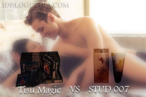 perbandingan rasa dan tahan lama stud 007 vs tisu magic