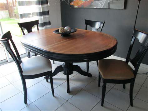 Relooking D'une Table Louis Philippe Et Chaises En 2019