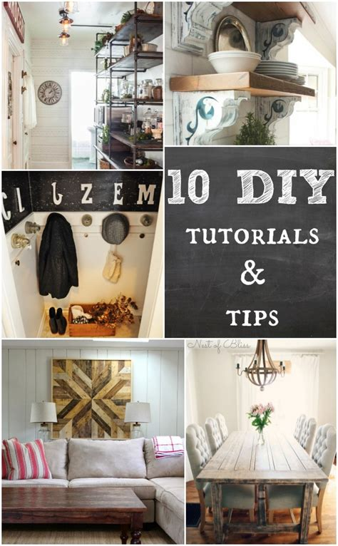 20 tutorials and tips not to miss diy projects home 10 diy tutorials tips home stories a to z