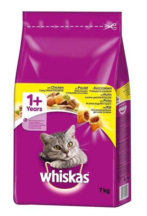 whiskas cat food 7kg chicken