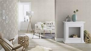 Home Style Tapete : tapete karo ethno rasch pure vintage grau braun 700626 ~ A.2002-acura-tl-radio.info Haus und Dekorationen