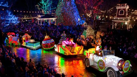 branson  christmas theme parks shows light
