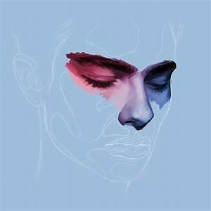 aesthetic, art, blue, boy, drawing, grunge, painting, sad ...