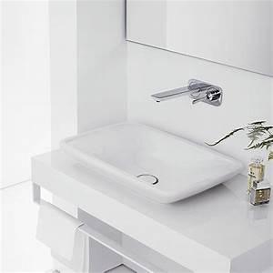 Armatur Aus Der Wand : stilrichtung avantgarde im badezimmer der zeit voraus hansgrohe de ~ Orissabook.com Haus und Dekorationen