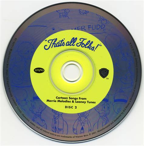 that s all folks songs from merrie melodies