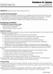 resume for a technical writer research analyst susan With technology resume writer