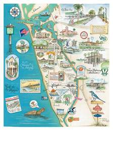 custom wedding map of venice florida quot the island of venice quot custom map