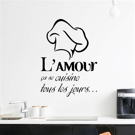 cuisine et citation amour cuisine 28 images stickers muraux citation amour