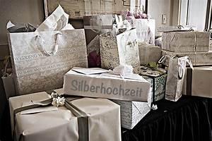 Silberne Hochzeit Gestaltungsideen Einladung