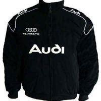 race car jackets audi quattro racing jacket black