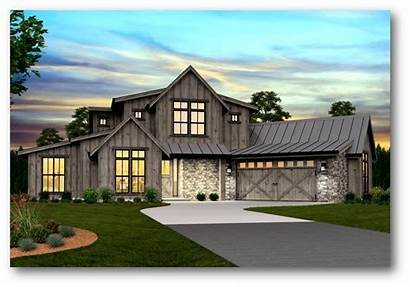 Modern Farmhouse Plans Plan Barn Story Pendleton