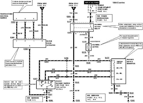 Ford Econoline E350 Blower Wiring Schematic by Ac Wiring Diagram 99 Ford Econoline Ac Wiring Exles