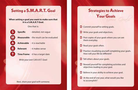 smart career goals examples  document template