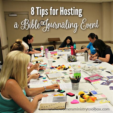 How To Host A Bible Journaling Event  Women's Ministry, Events And Ministry Ideas