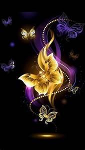 Purple Butterfly Desktop