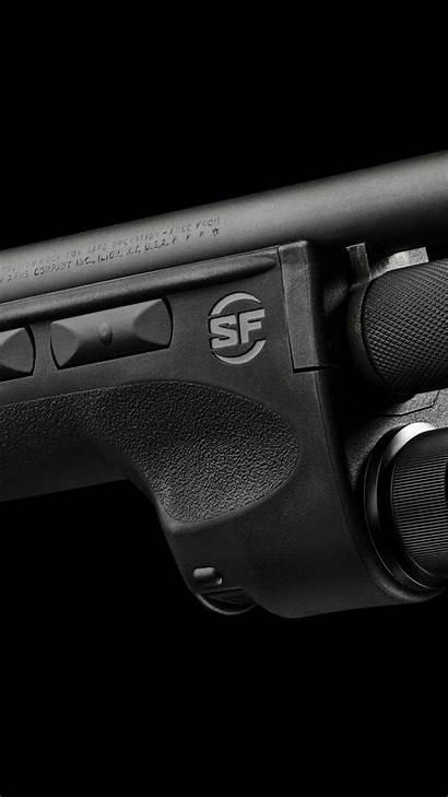 Shotgun Remington Pump Weapon Action Surefire Military
