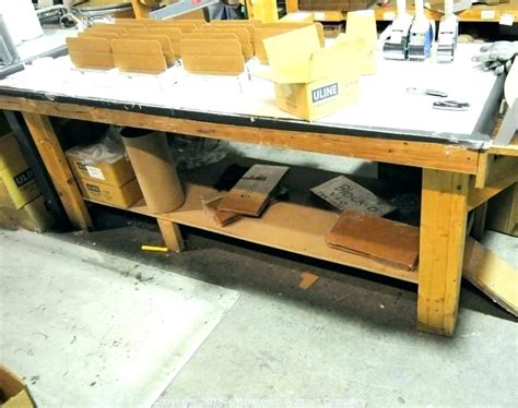 wood workbench top material