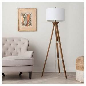 oak wood tripod floor lamp thresholdtm floor lamps With oak wood tripod floor lamp target