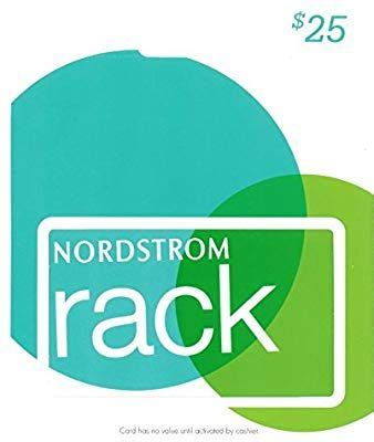 There is no fee attached to the purchase of the gift card(s). Amazon.com: Nordstrom Rack Gift Card $25: Gift Cards   Nordstrom gifts, Gift card, Beauty gift card