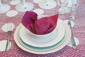 Servietten Rose Falten : servietten falten hochzeit 40 ideen f r einen sch n dekorierten tisch ~ Eleganceandgraceweddings.com Haus und Dekorationen