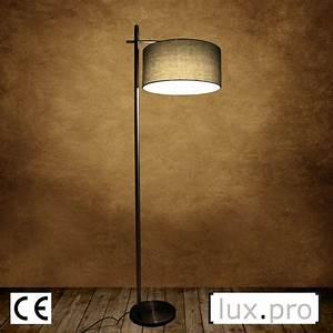 Stehlampe Brauner Schirm : moderne stehleuchte design stehlampe lampe wohnzimmerlampe leuchte standleuchte ebay ~ Markanthonyermac.com Haus und Dekorationen