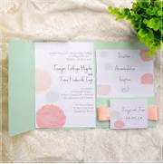 Mint Green And Peach Wedding Invitations For Courthouse Wedding Ideas San Francisco Courthouse Wedding Ruffled Wedding Announcement Courthouse Wedding Invite Idea Postcards Courthouse Wedding Wedding Announcement Rock N Roll Eloped On Etsy