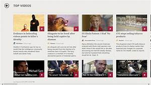 MSN News app for Windows in the Windows Store