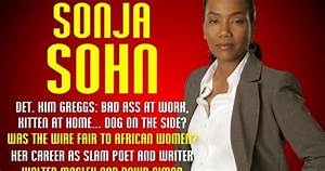 ACTOR + POET SONJA SOHN ON KIMA GREGGS, THE WIRE, THE POETRY SCENE, THE HARLEM RENAISSANCE