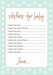 Freebie wish cards laurenmakes39s weblog for Baby shower wish list template